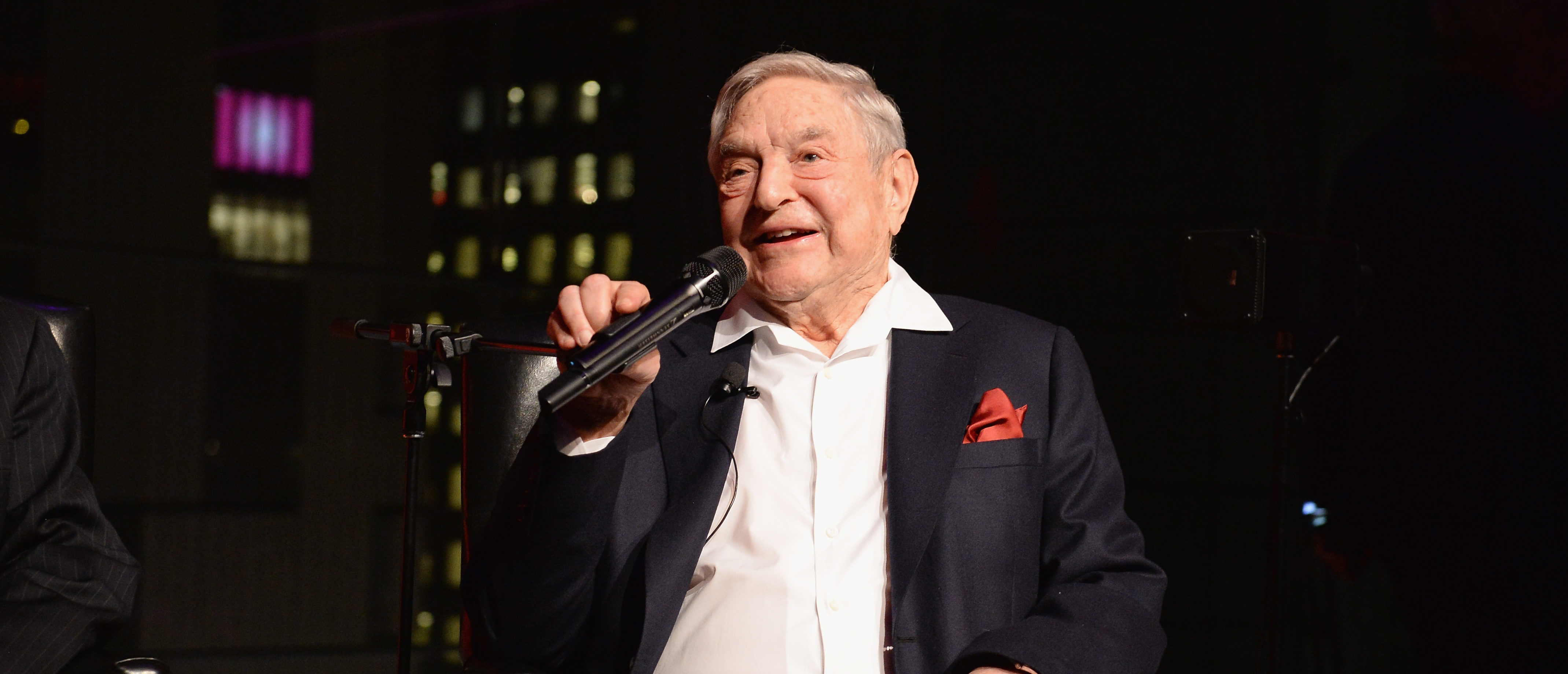 George Soros Has Donated A Fortune Fighting Trump's Immigration Agenda, New Book Alleges