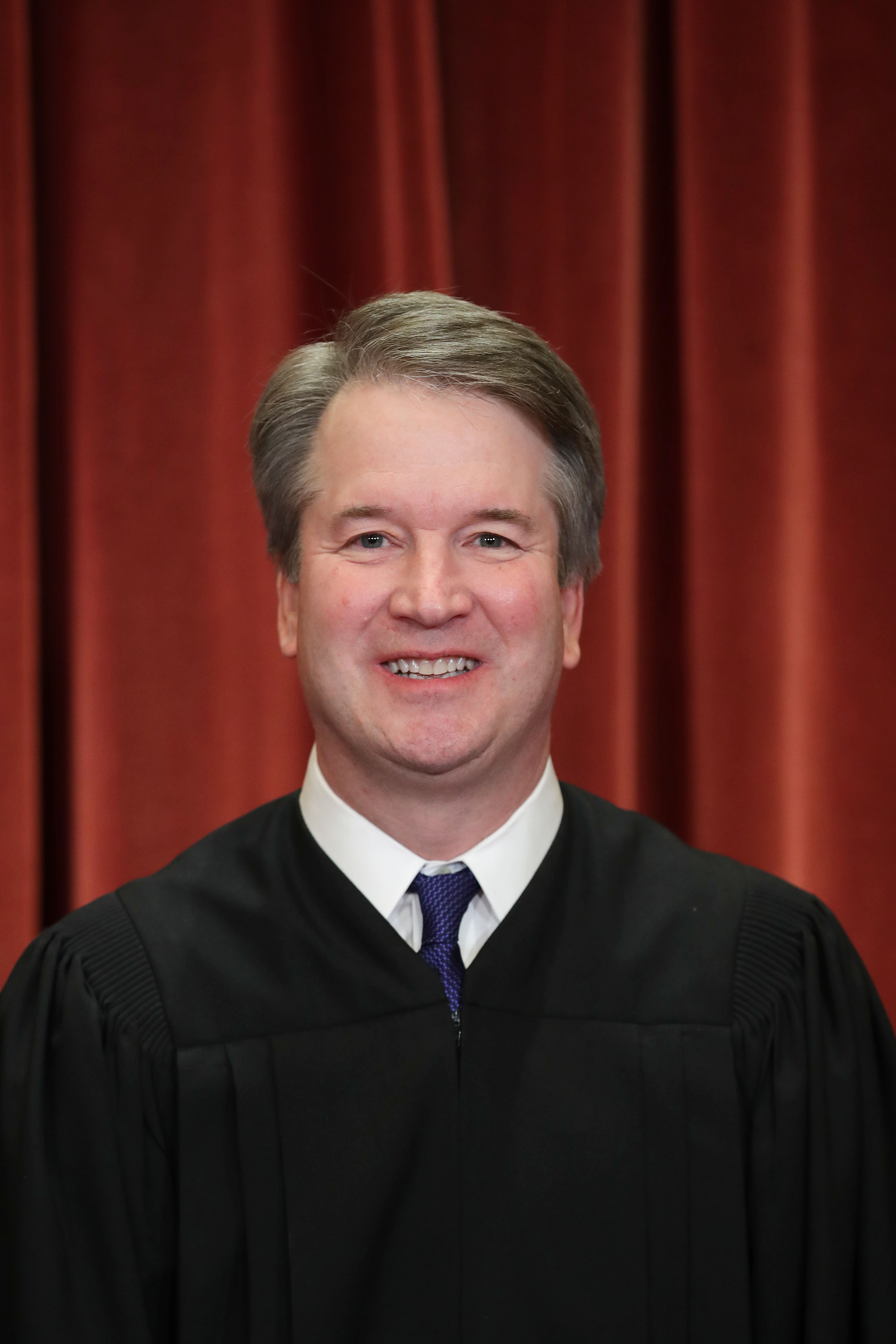 United States Supreme Court Associate Justice Brett Kavanaugh poses for the court's official portrait in the East Conference Room at the Supreme Court building November 30, 2018 in Washington, DC. (Chip Somodevilla/Getty Images)
