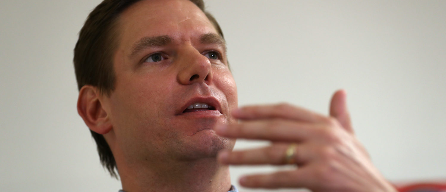 Swalwell Takes It On The Chin From 2A Supporters After Mocking 'Good Guys With Guns'