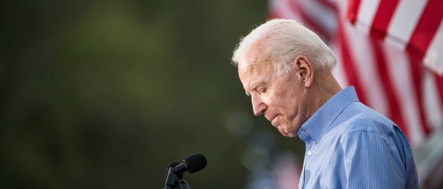 GALIVANTS FERRY, SC - SEPTEMBER 16: Former Vice President and Democratic presidential candidate Joe Biden addresses the crowd at The Galivants Ferry Stump on September 16, 2019 in Galivants Ferry, South Carolina. It's the first time the 143 year-old event has been held in the fall featuring Democratic presidential candidates. (Photo by Sean Rayford/Getty Images)