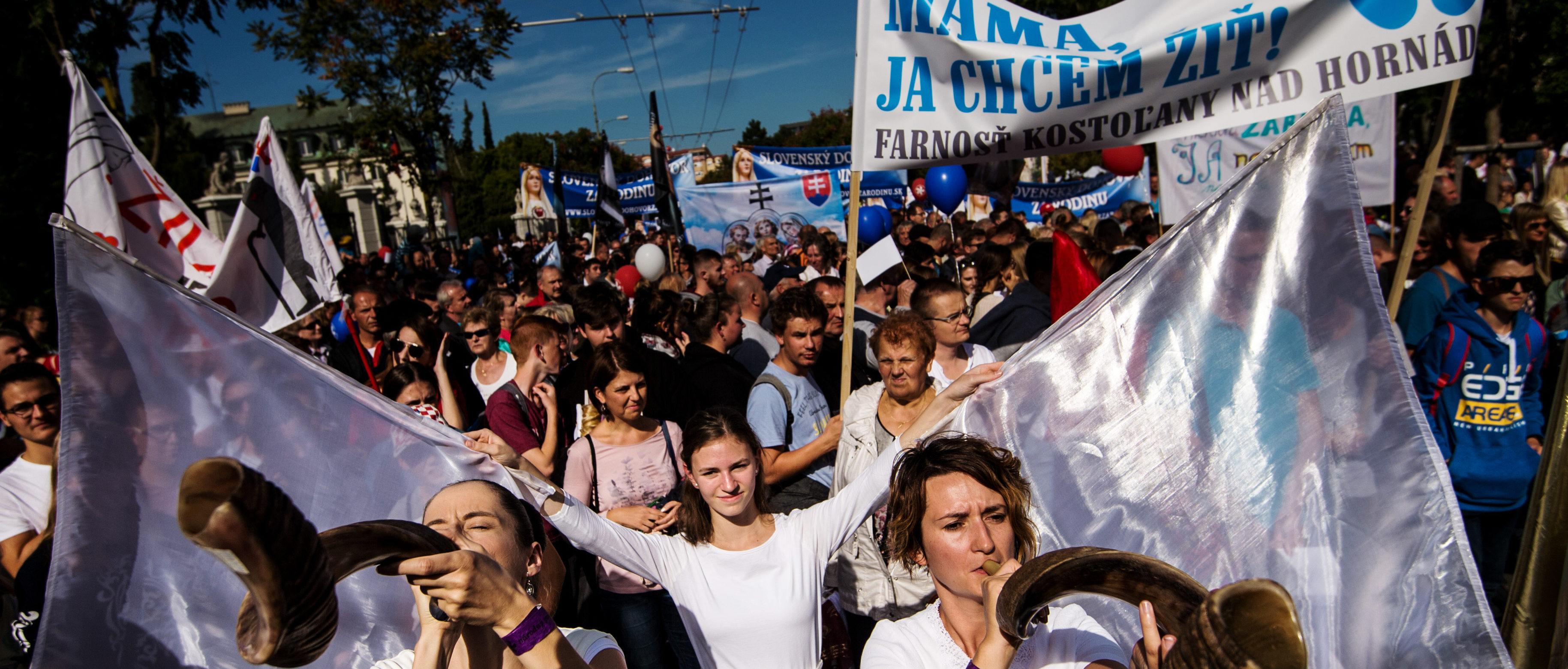 50,000 Slovakians Demand A Ban On Abortions In Annual March For Life