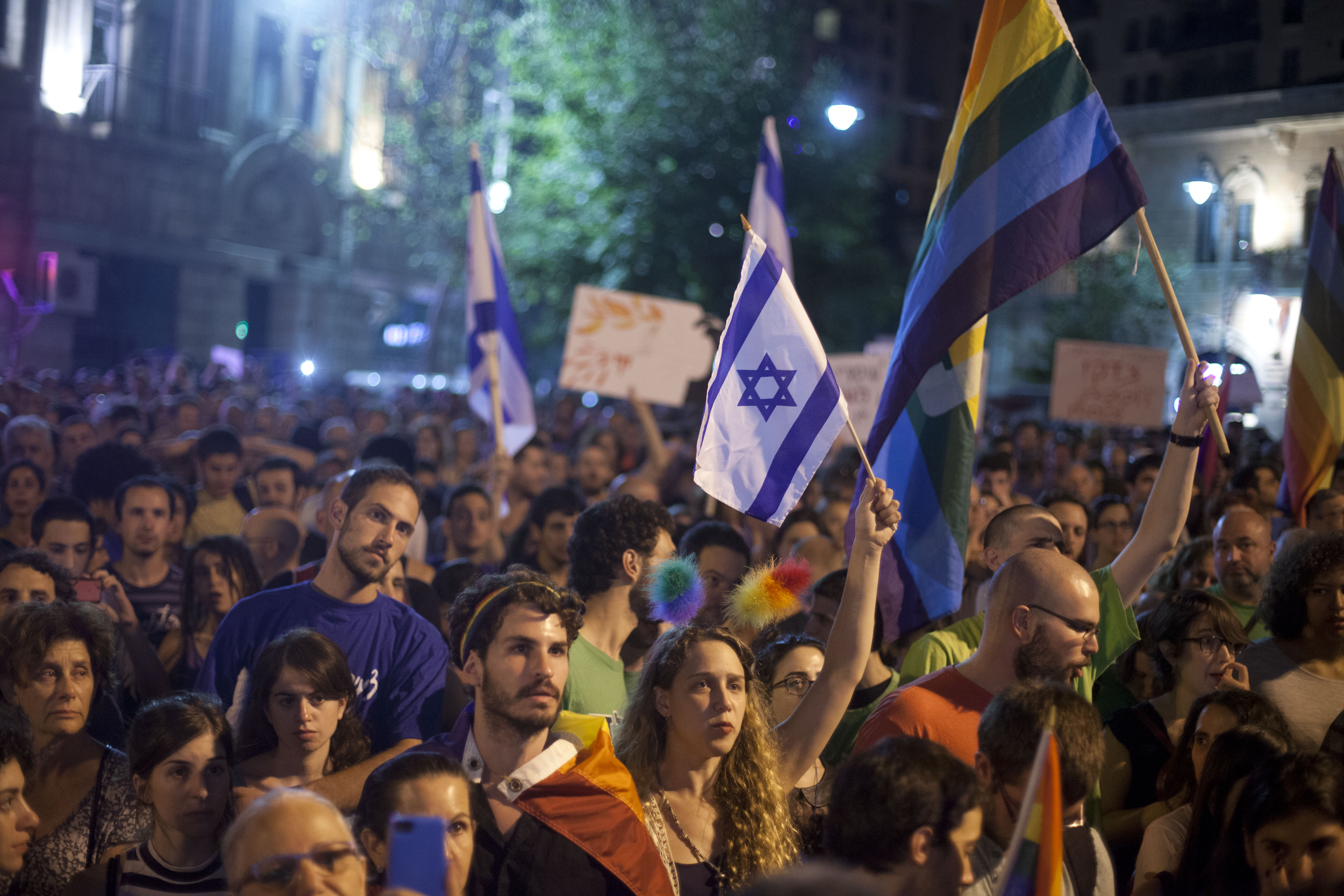 Israel Gays On Strike For Being Excluded