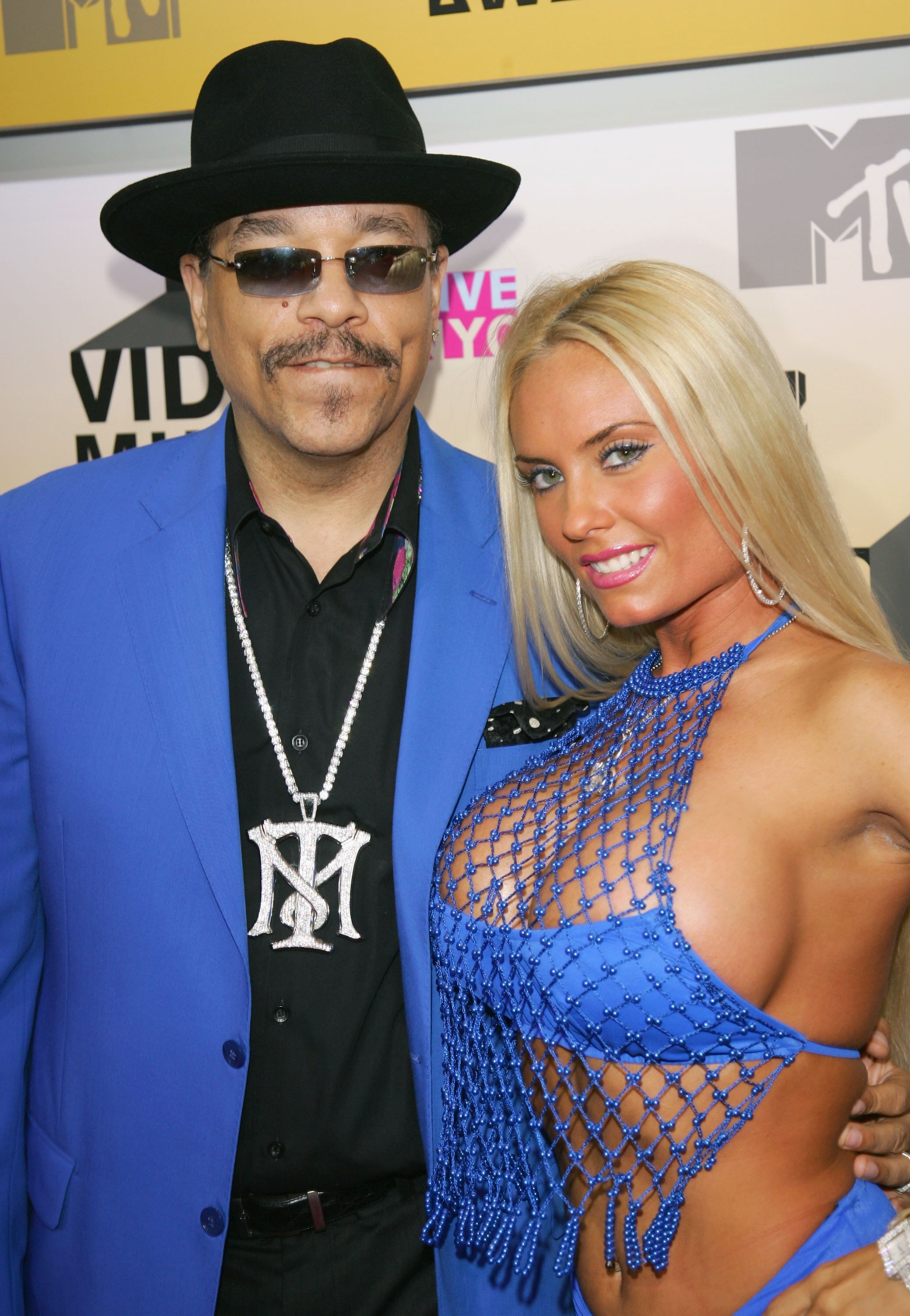 NEW YORK - AUGUST 31: Actor Ice-T and his wife Coco attends the 2006 MTV Video Music Awards at Radio City Music Hall August 31, 2006 in New York City. (Photo by Evan Agostini/Getty Images)