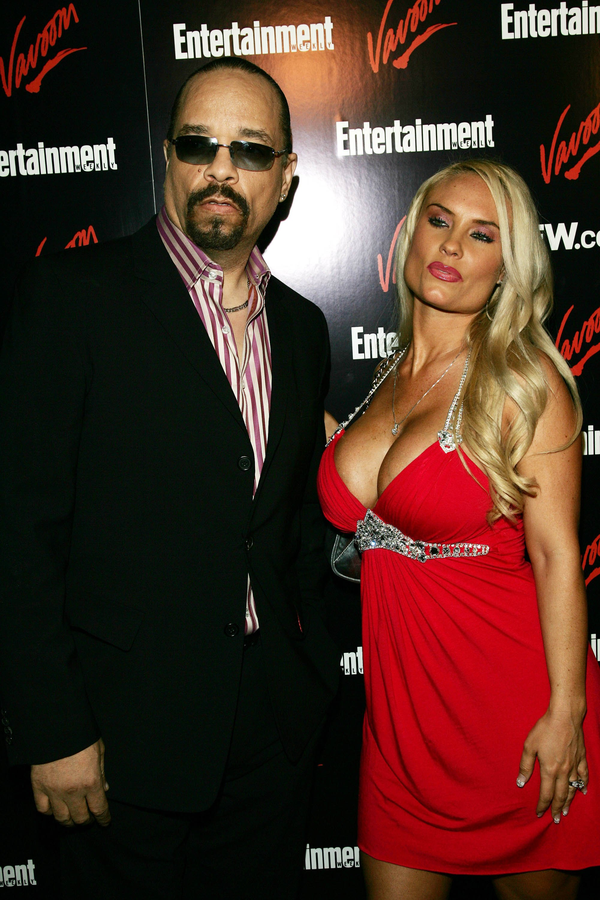 NEW YORK - MAY 15: Rapper, actor Ice T and wife Coco attend the Upfront Party hosted by Entertainment Weekly and Vavoom at the Box May 15, 2007 in New York City. (Photo by Evan Agostini/Getty Images)