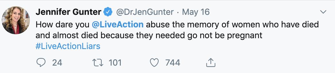 Jen Gunter Tweet