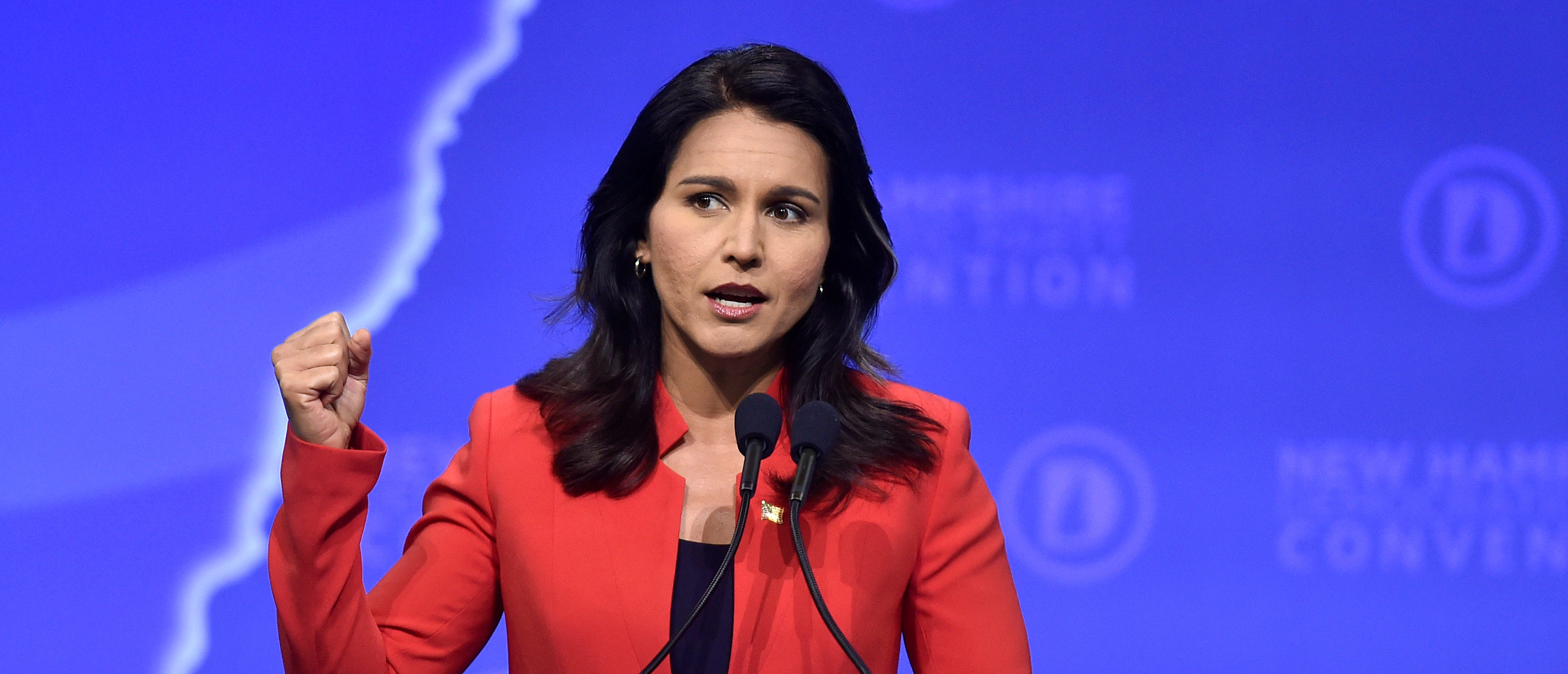 Gabbard Comes Out Against Open Borders, Supports Physical Barriers
