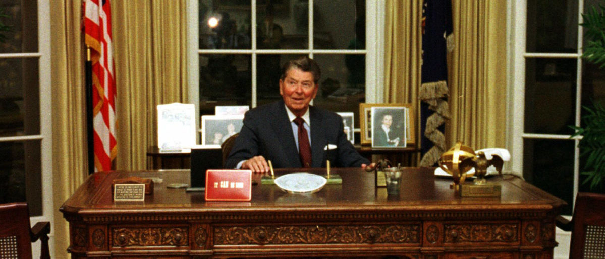 FACT CHECK: No, Ronald Reagan Did Not Meet With The Taliban In The Oval Office