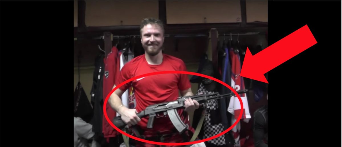 Russian Hockey Team Gives Players AK-47s. The Reason Why Is Awesome