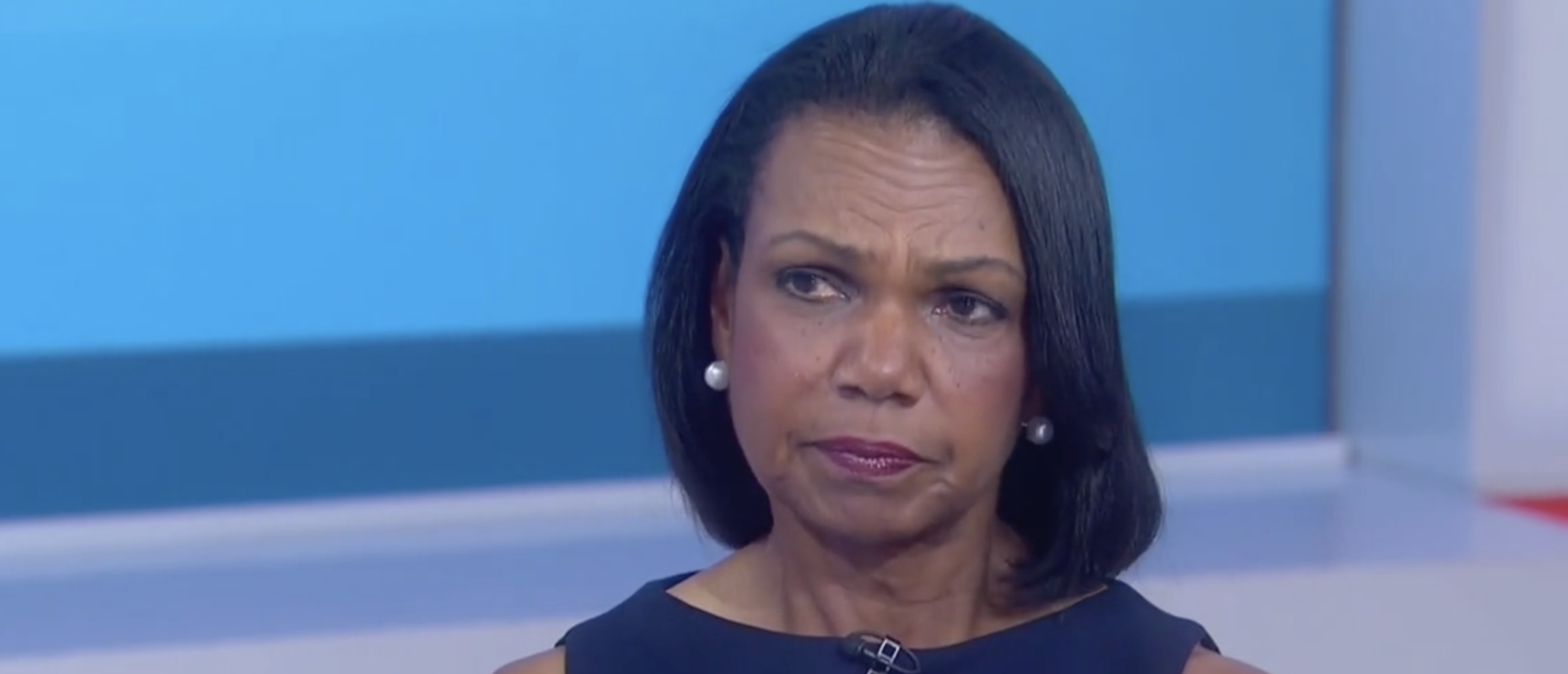 Condoleezza Rice Smacks Down NBC's Savannah Guthrie After She Suggests Russians Elected Trump