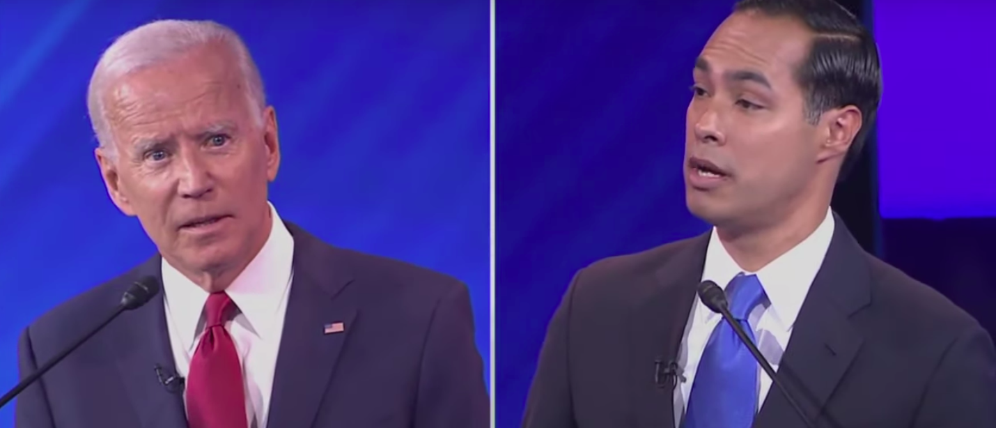 Castro To Biden: 'Are You Forgetting What You Said 2 Minutes Ago?'
