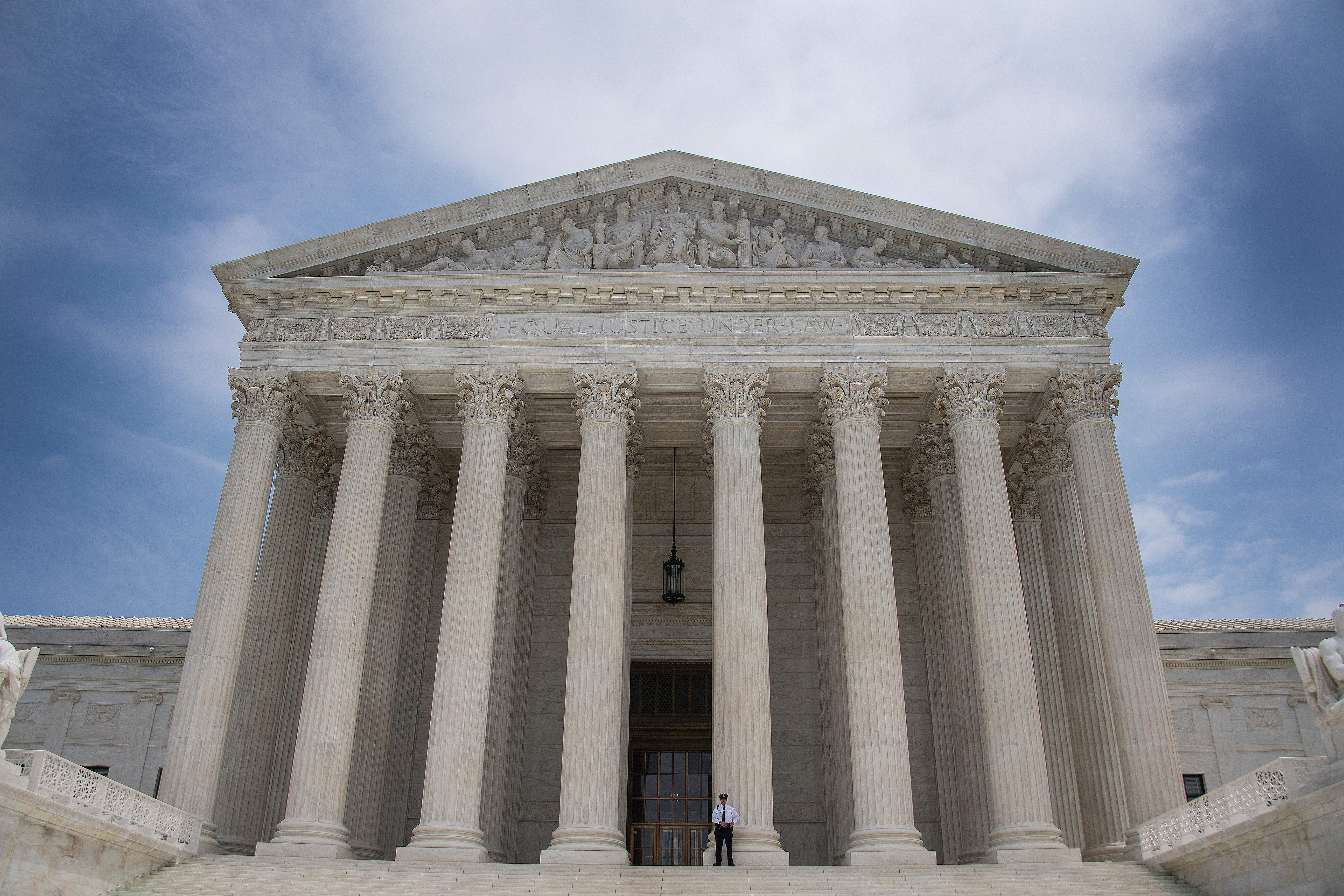 The US Supreme Court as seen on June 15, 2017. (Jim Watson/AFP/Getty Images)