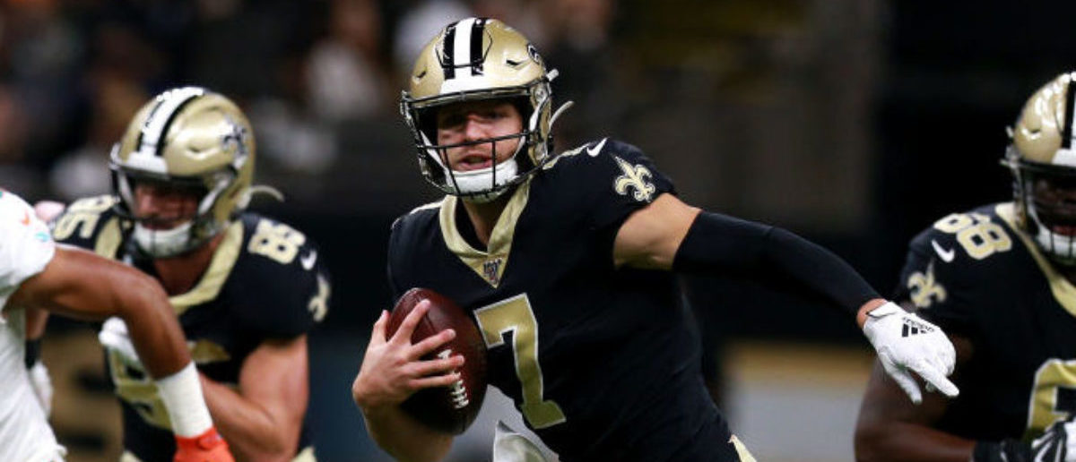 new concept 5fa9e f553b Taysom Hill And Teddy Bridgewater Could Both Play For The ...