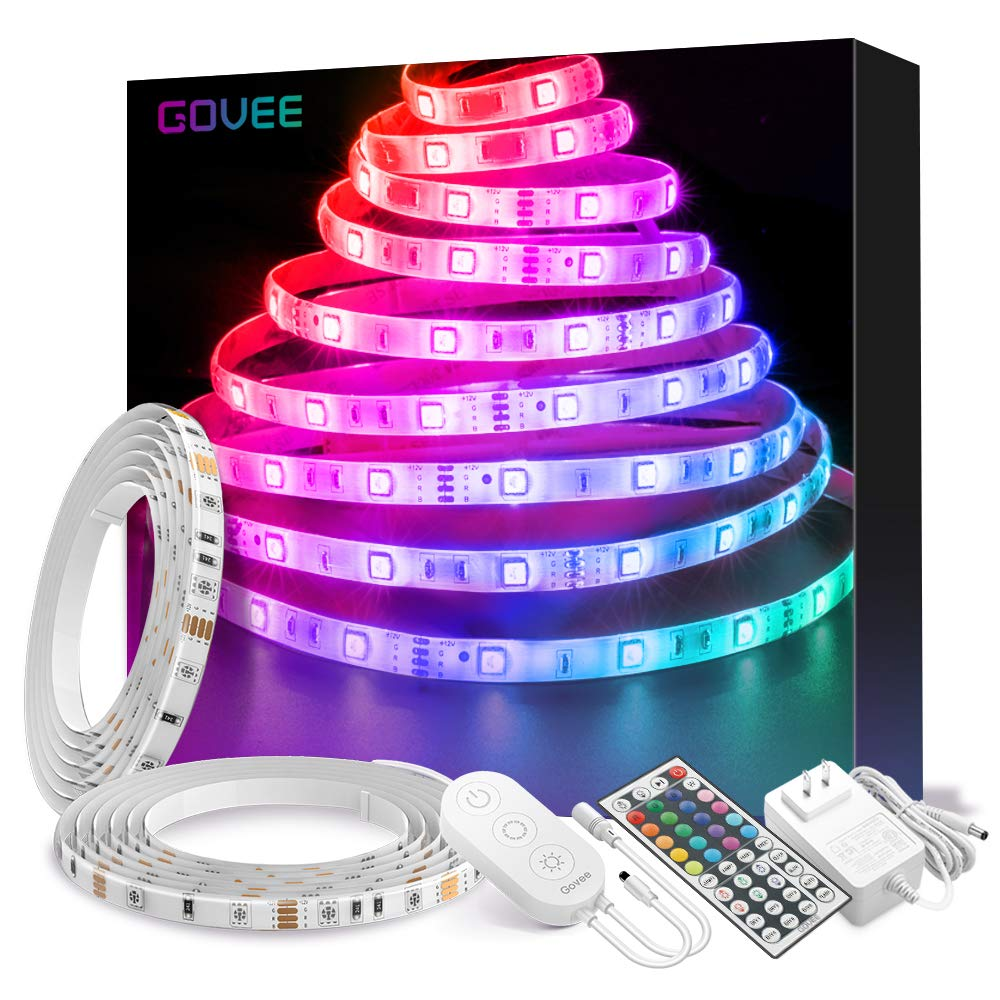 Get over 32 ft of waterproof color changing LED lights for almost 35 percent off (Photo via Amazon)