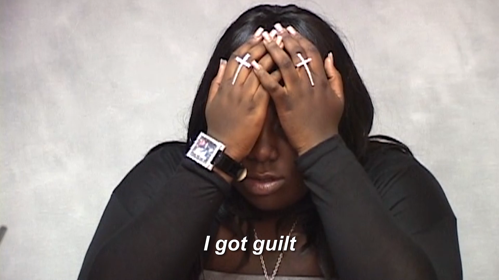Rachel Jeantel, who said she was on the phone with Trayvon Martin (Screenshot from 'The Trayvon Hoax')