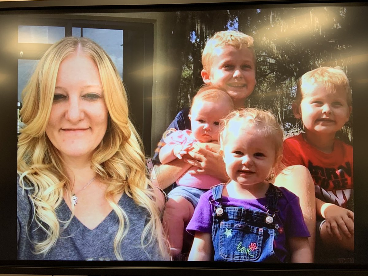 Authorities have located the remains of Casei Jones and her four children. (Twitter/Julie Laude)