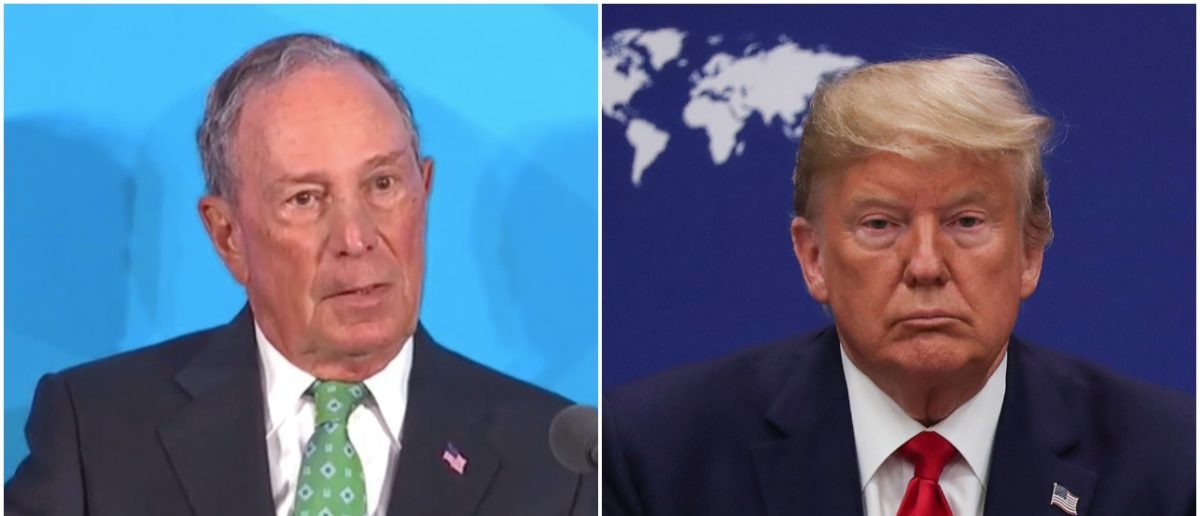 `Impeached President Says What?`  Mike Bloomberg Mocks...