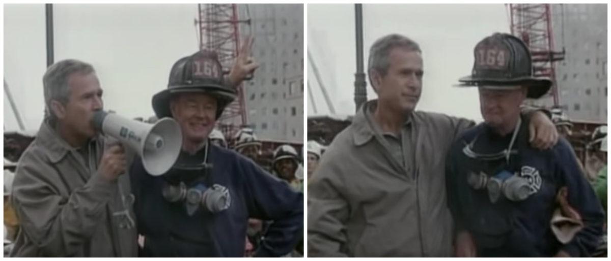 Flashback: George W. Bush Tells New Yorkers That 9/11 Terrorists Will 'Hear All Of Us Soon!'