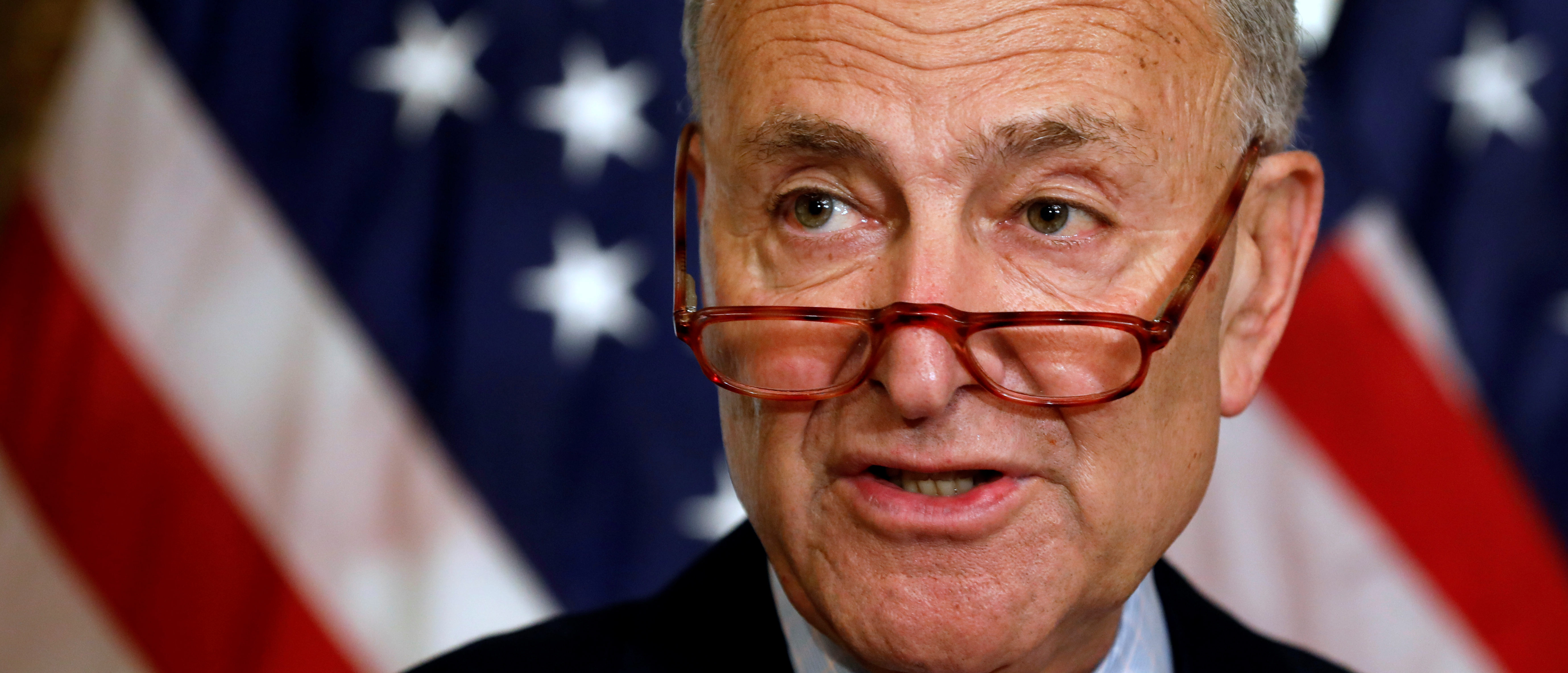 Chuck Schumer Says He Doesn't Know Any Democrats Who Support Beto's Gun Grab