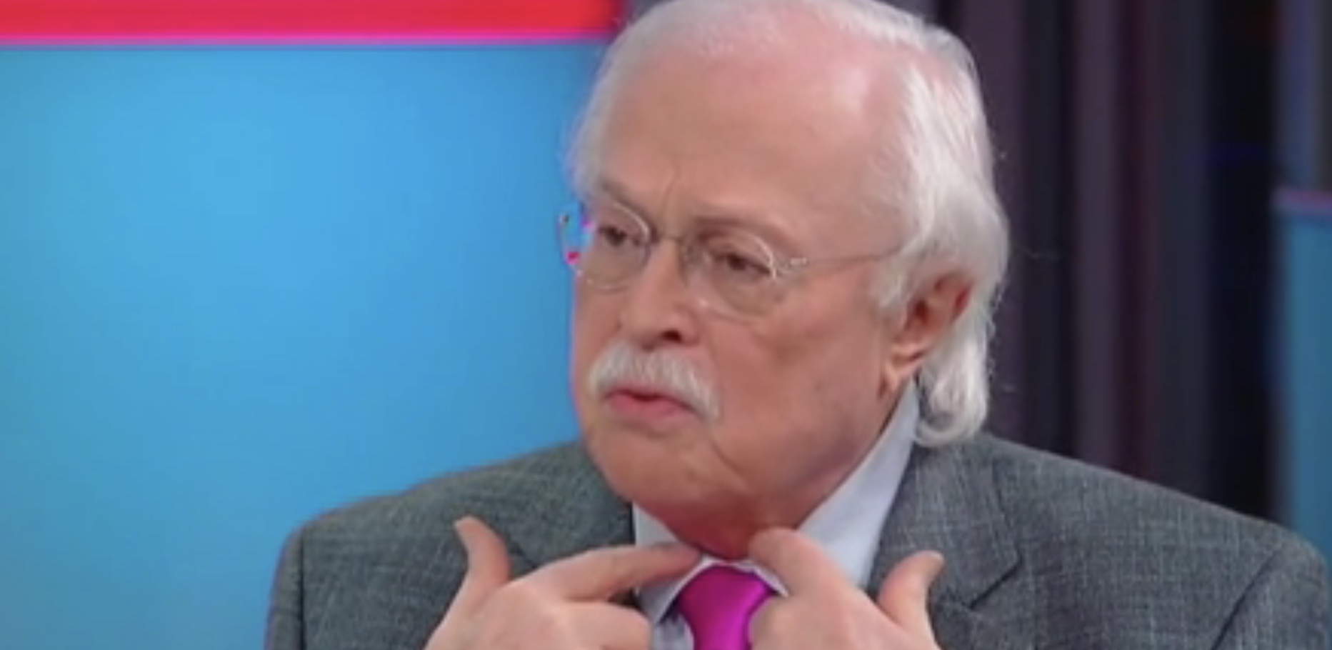 "Forensic pathologist Dr. Michael Baden appears on ""Fox & Friends"" to discuss the death of Jeffrey Epstein, Oct. 30, 2019. Fox News screenshot."