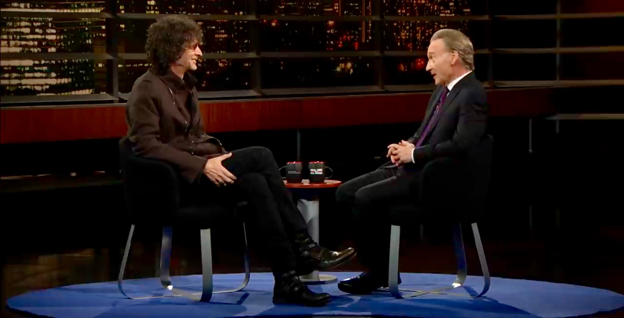 Maher: He And Howard Stern 'Last Sane People,' Reject Far-Left 'Bulls**t'