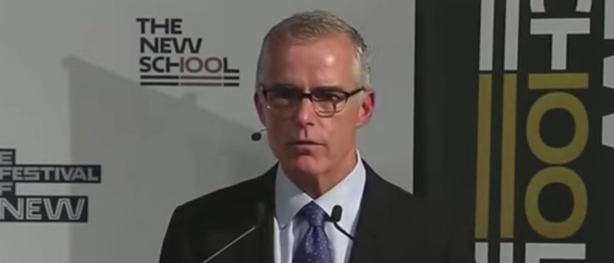 Andrew McCabe Opens Up About Steele Dossier, Origins Of Trump-Russia Probe