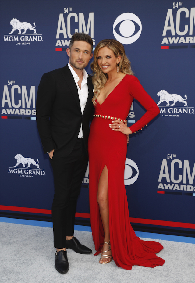 54th Academy of Country Music Awards Arrivals Las Vegas, Nevada, U.S., April 7, 2019 Michael Ray and Carly Pearce. REUTERS/Steve Marcus