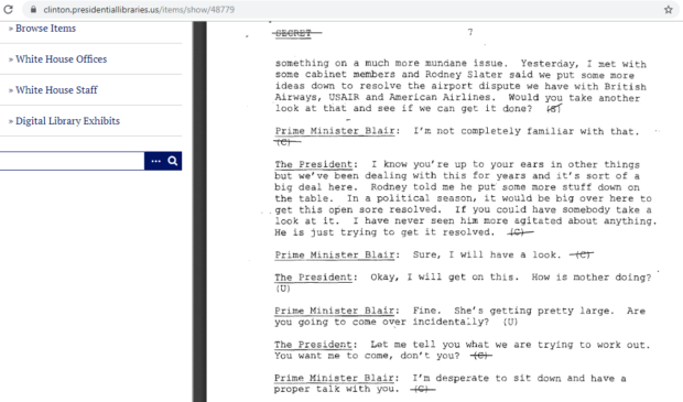 Clinton-Presidential-Library-screengrab-
