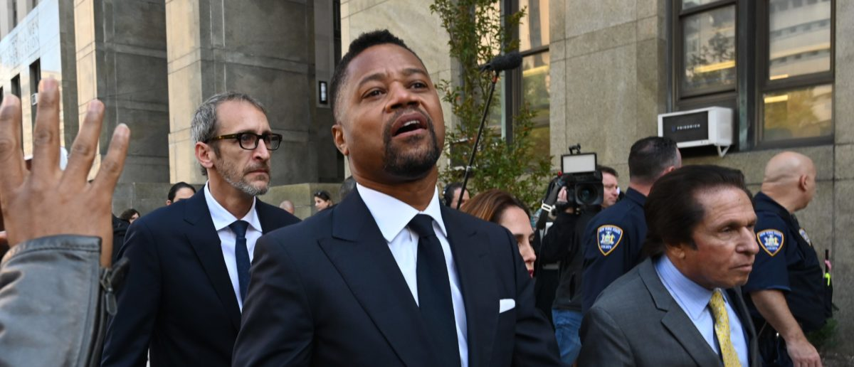 Cuba Gooding Accused Of Telling A Stranger To Pee On Him