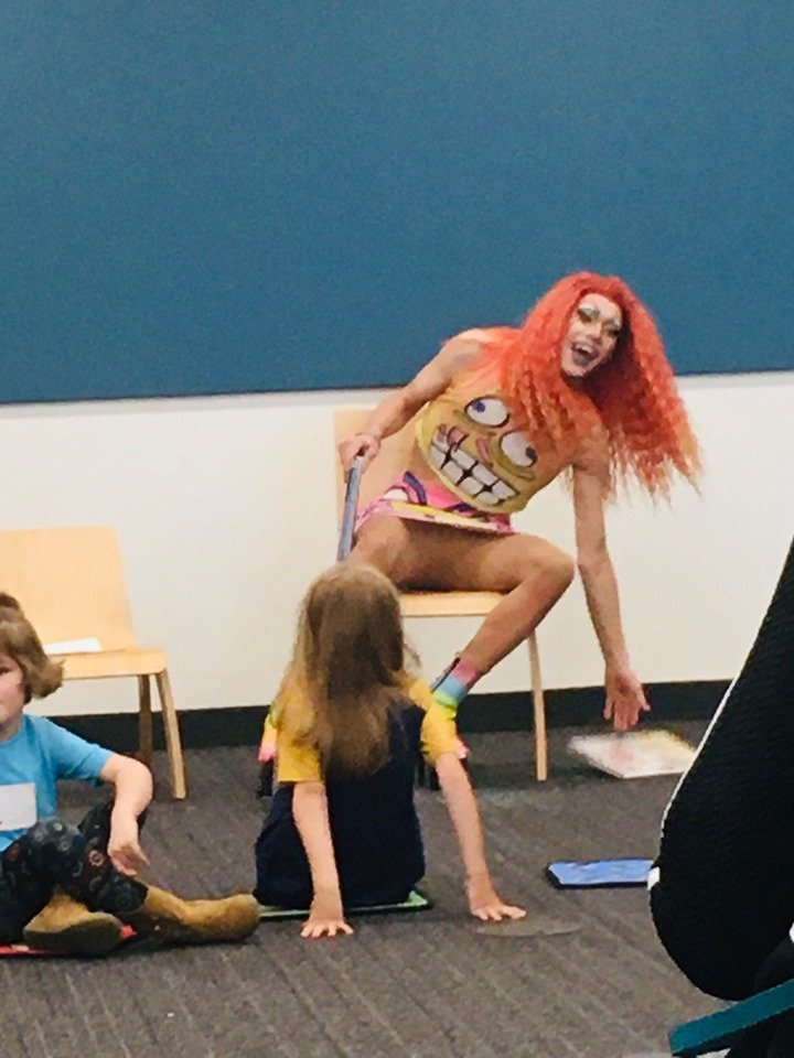 Drag Queen Story Hour, Photo courtesy of Child Protection League Action