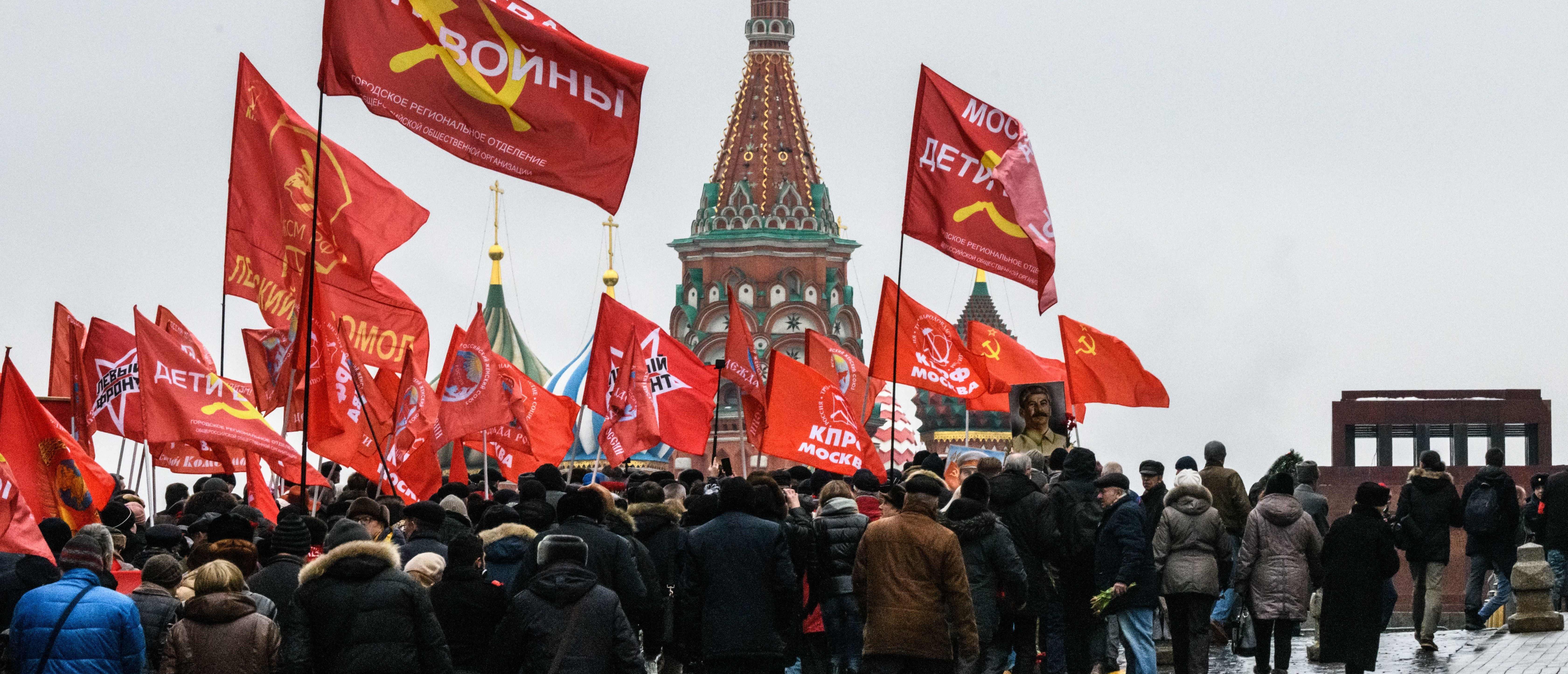 Russia's Communists Are Making A Comeback
