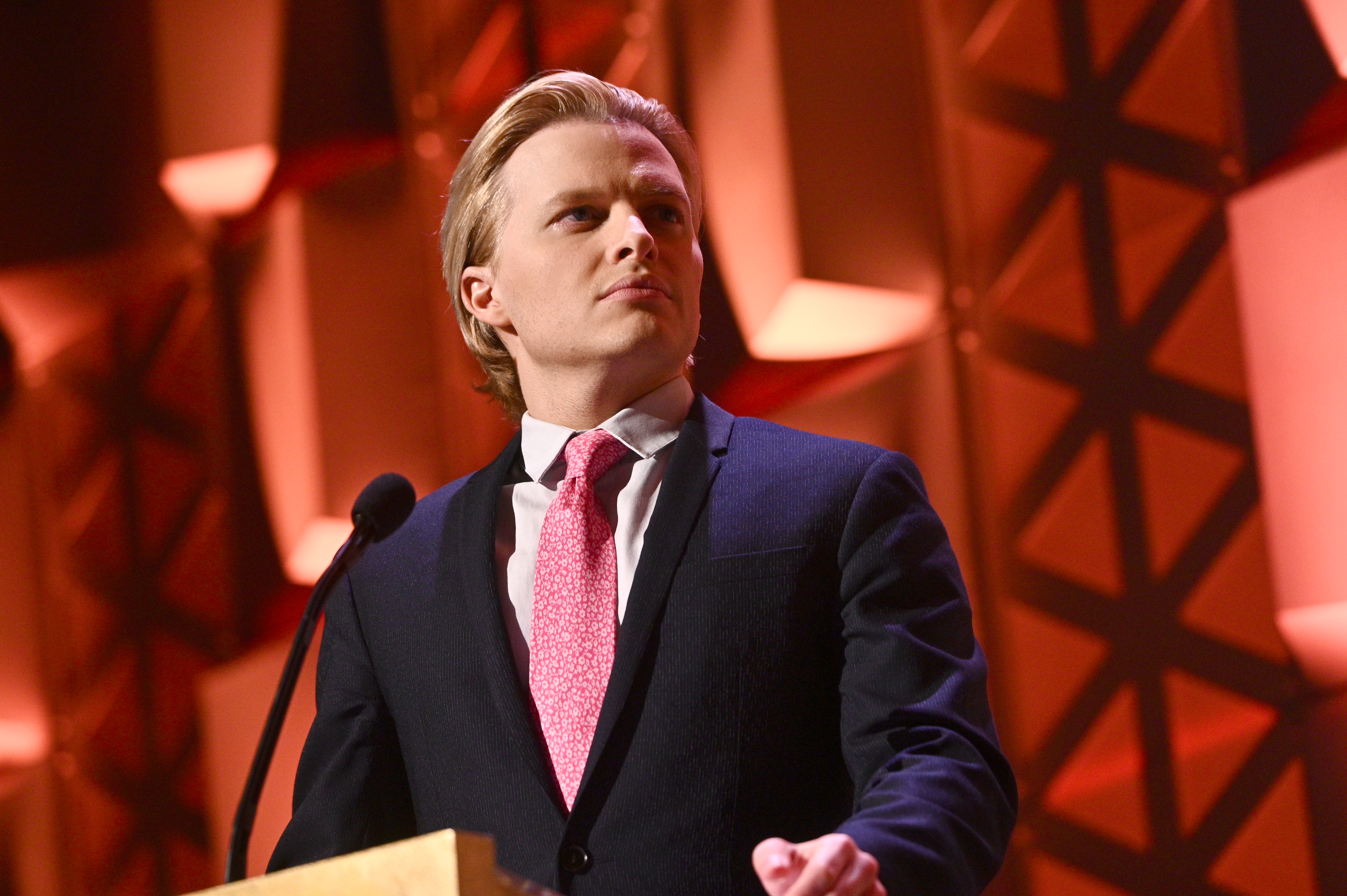 Ronan Farrow speaks onstage at the 78th Annual Peabody Awards Ceremony Sponsored By Mercedes-Benz at Cipriani Wall Street on May 18, 2019 in New York City. (Mike Pont/Getty Images for Peabody)