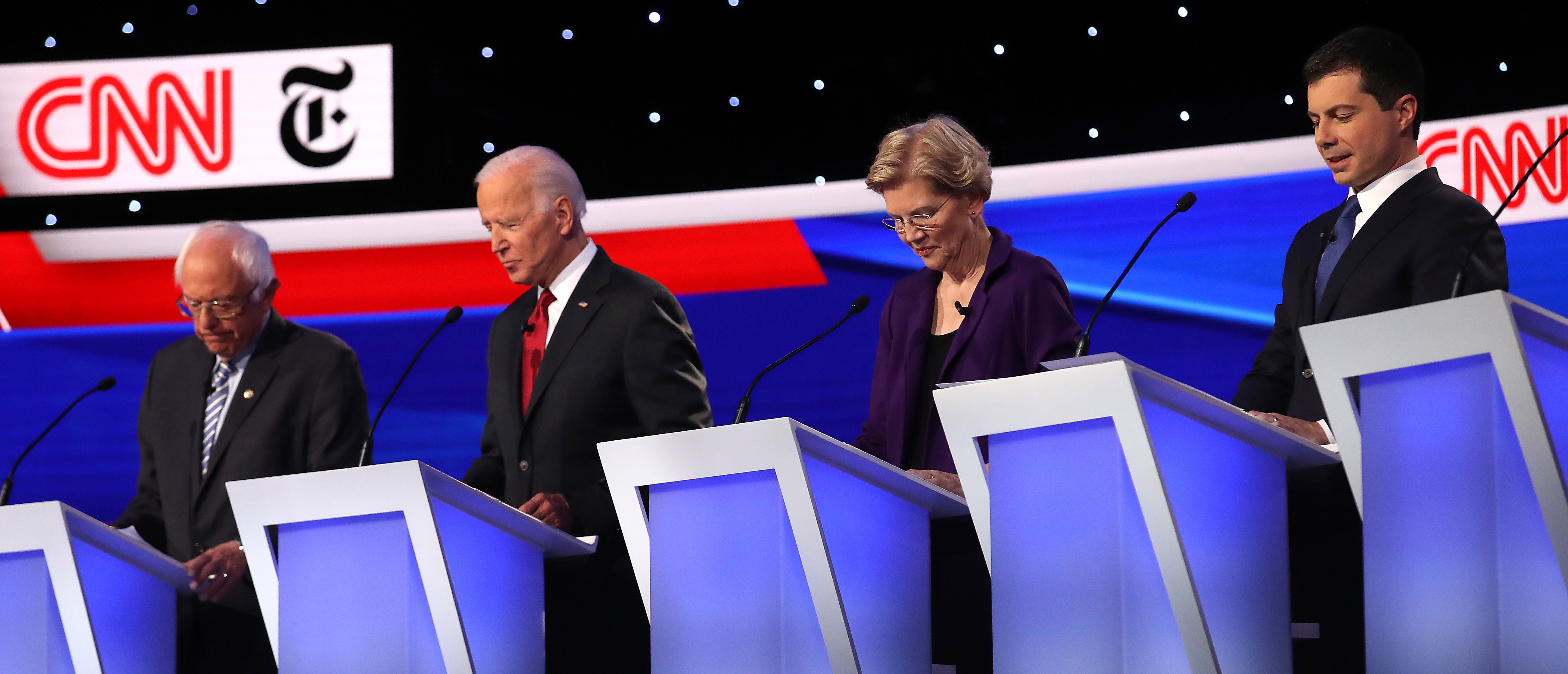Ratings For The Fourth Democratic Debate Are In