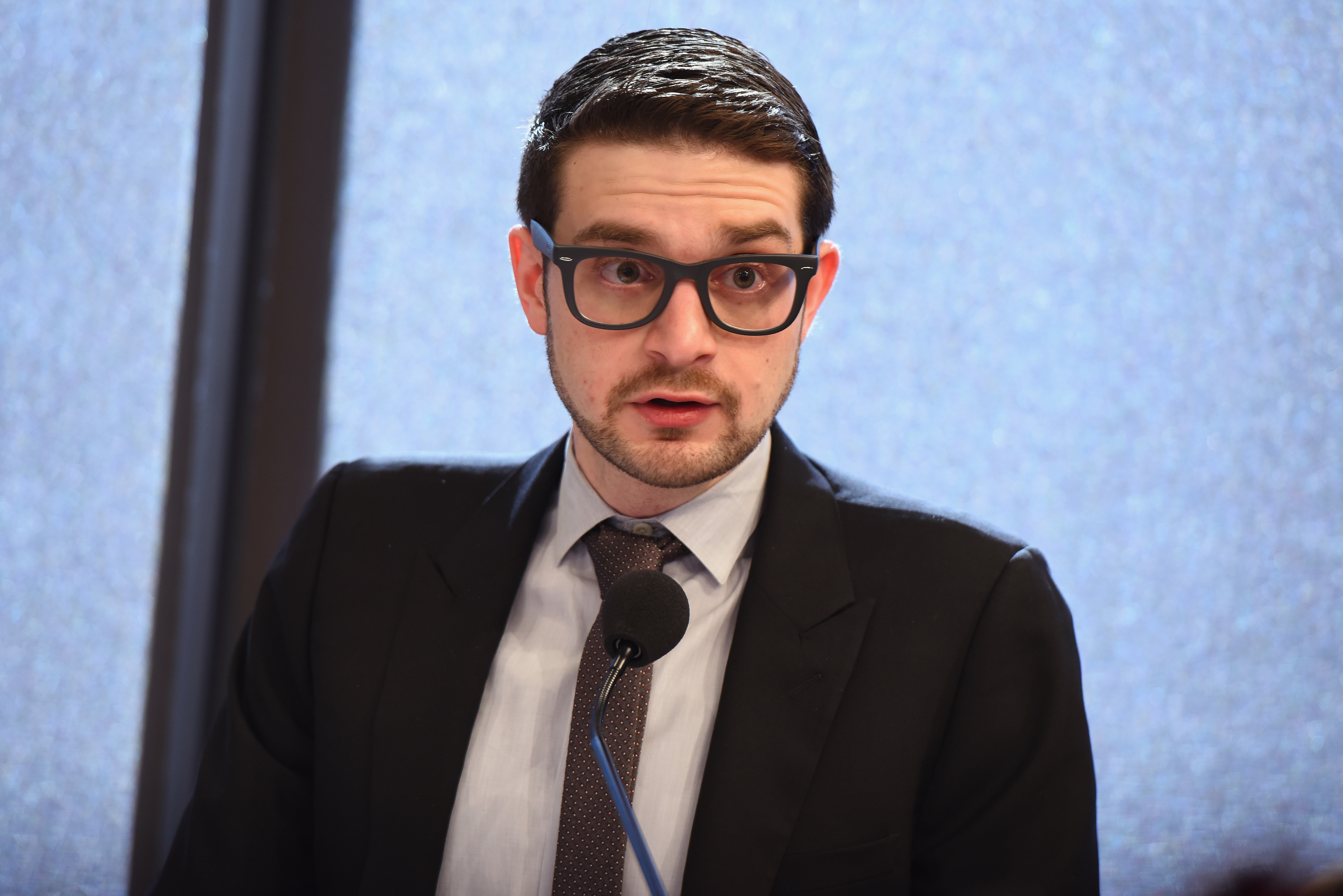 Alexander Soros, George Soros' son, hosted a dinner for prominent Democrats in an effort to redistrict New York. (Dave Kotinsky/Getty Images for Ford Foundation)
