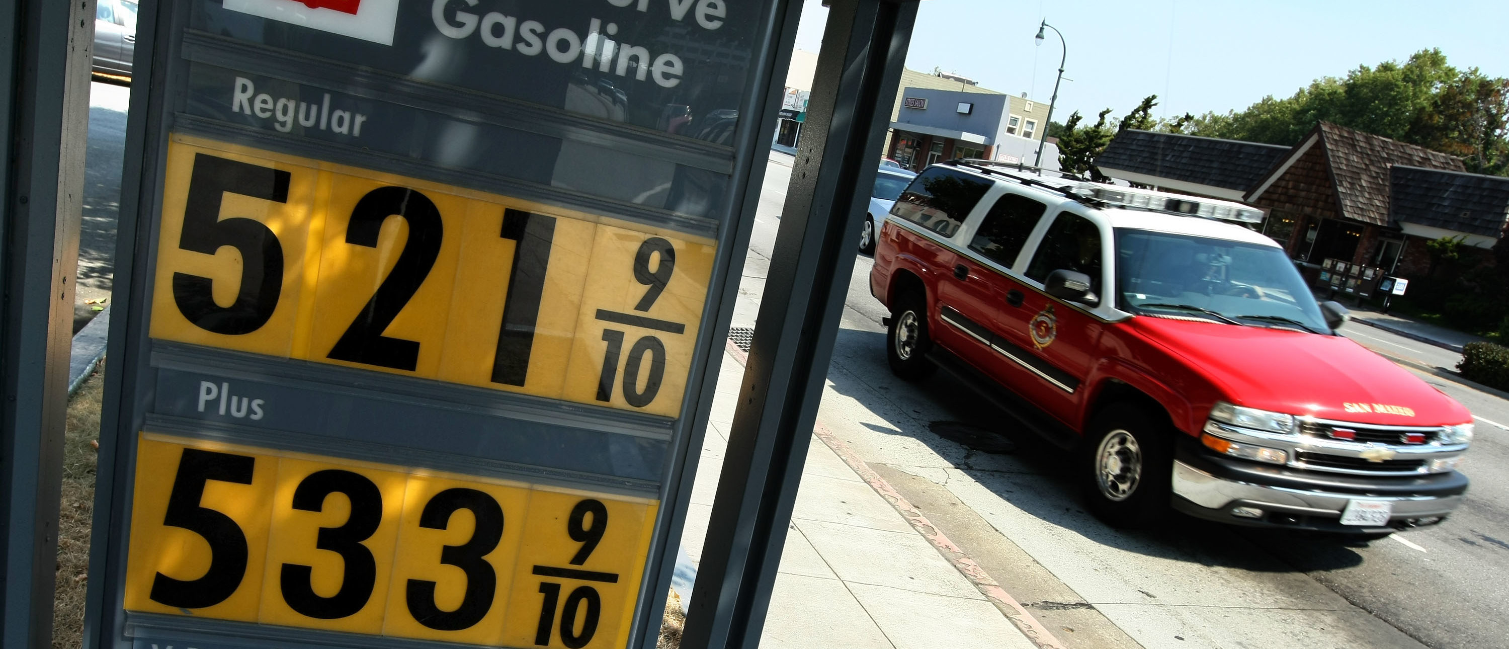 'Spare Me, You Arsonist Firefighter': Some Californians Are Paying $5 For A Gallon Of Gas