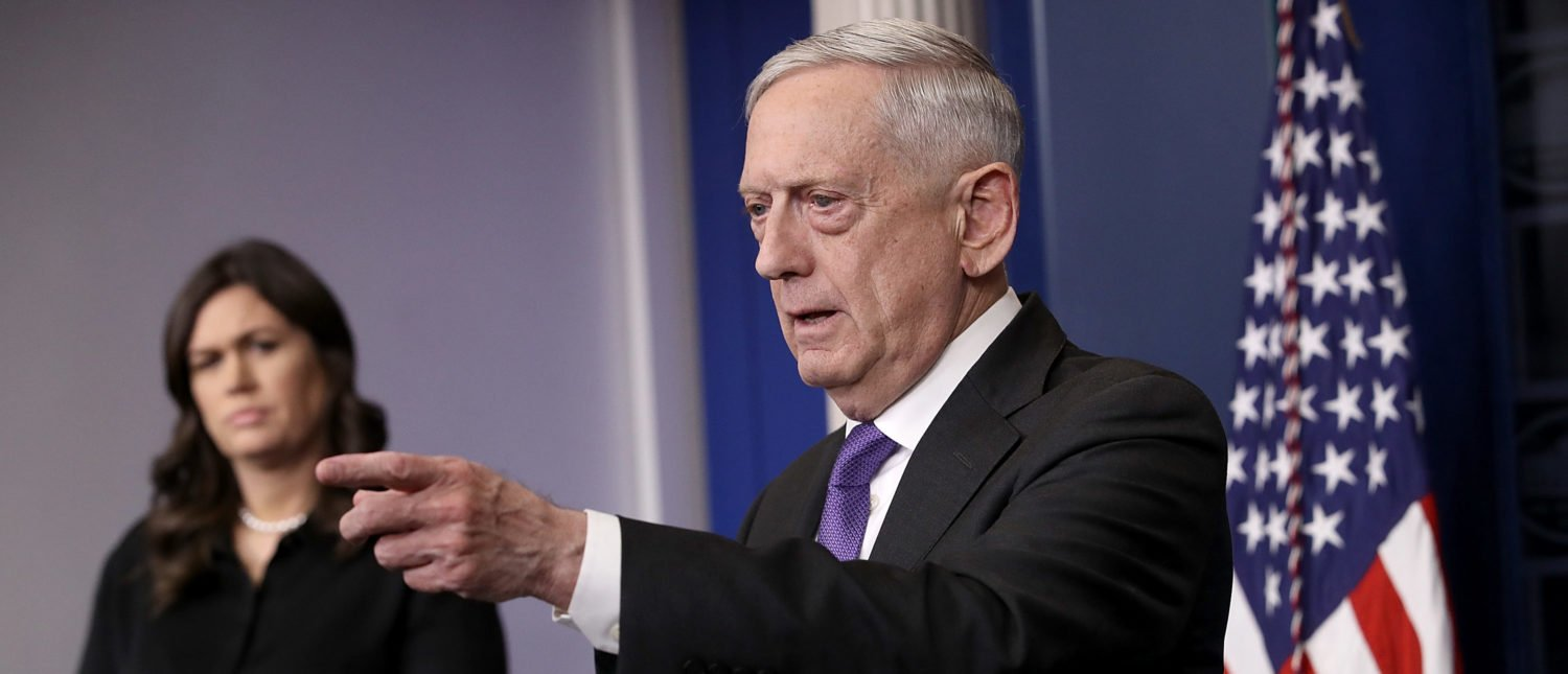 James Mattis Explains The Biggest Problems Facing America's Military