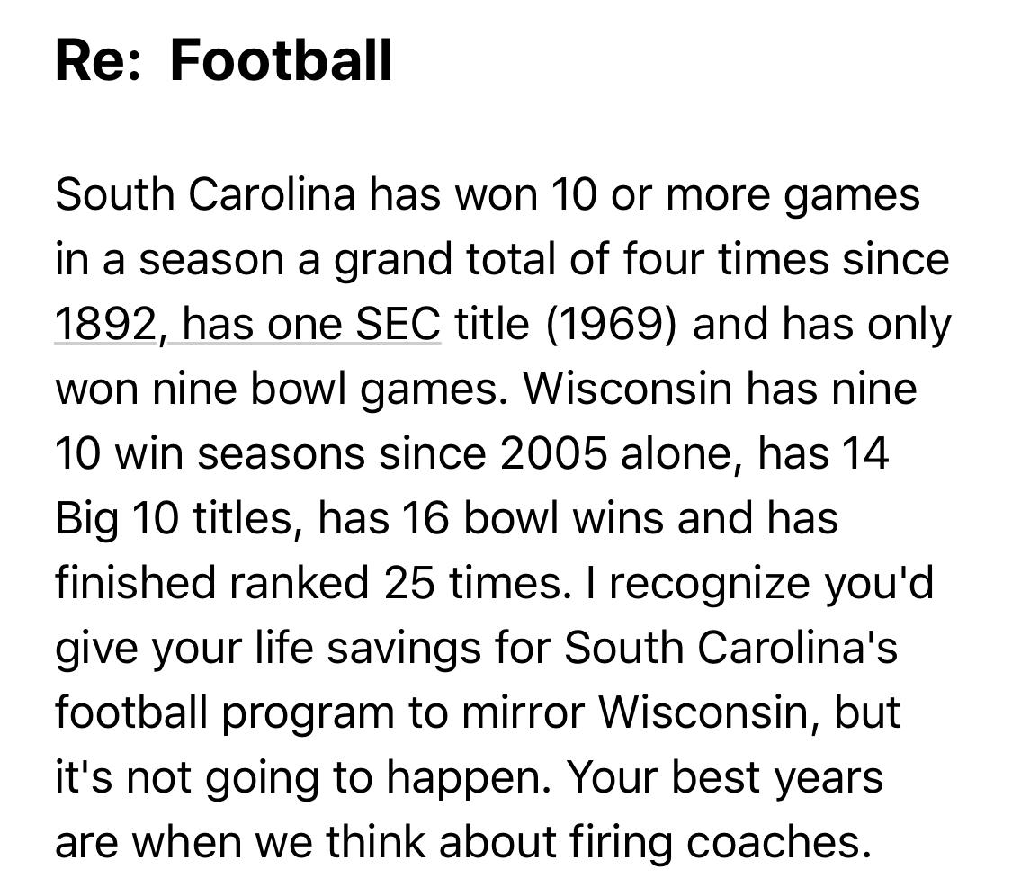 South Carolina Feud (Credit: David Hookstead)