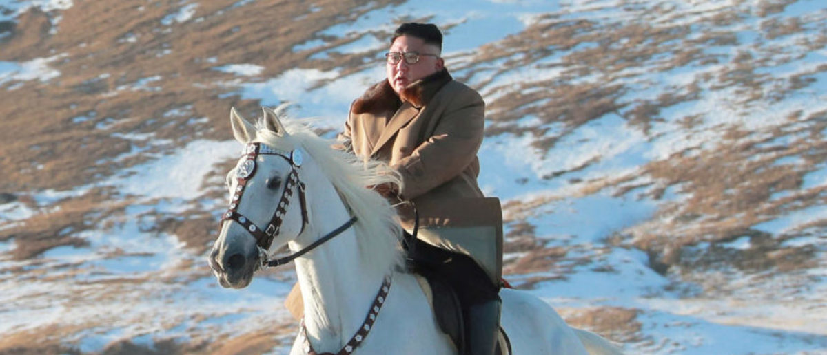 North Korea Releases Majestic Photos Of Kim Jong Un Riding A Horse. They Will Be The Best Thing You See All Day