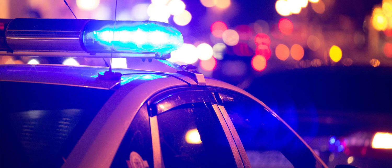 Police Lights. Shutterstock