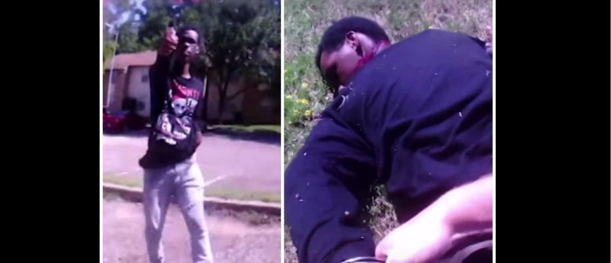 GRAPHIC VIDEO WARNING: Police Shoot Man After He Allegedly Pulls A Gun On Them