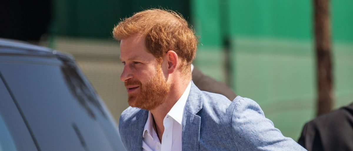 Image result for prince harry snaps at reporter