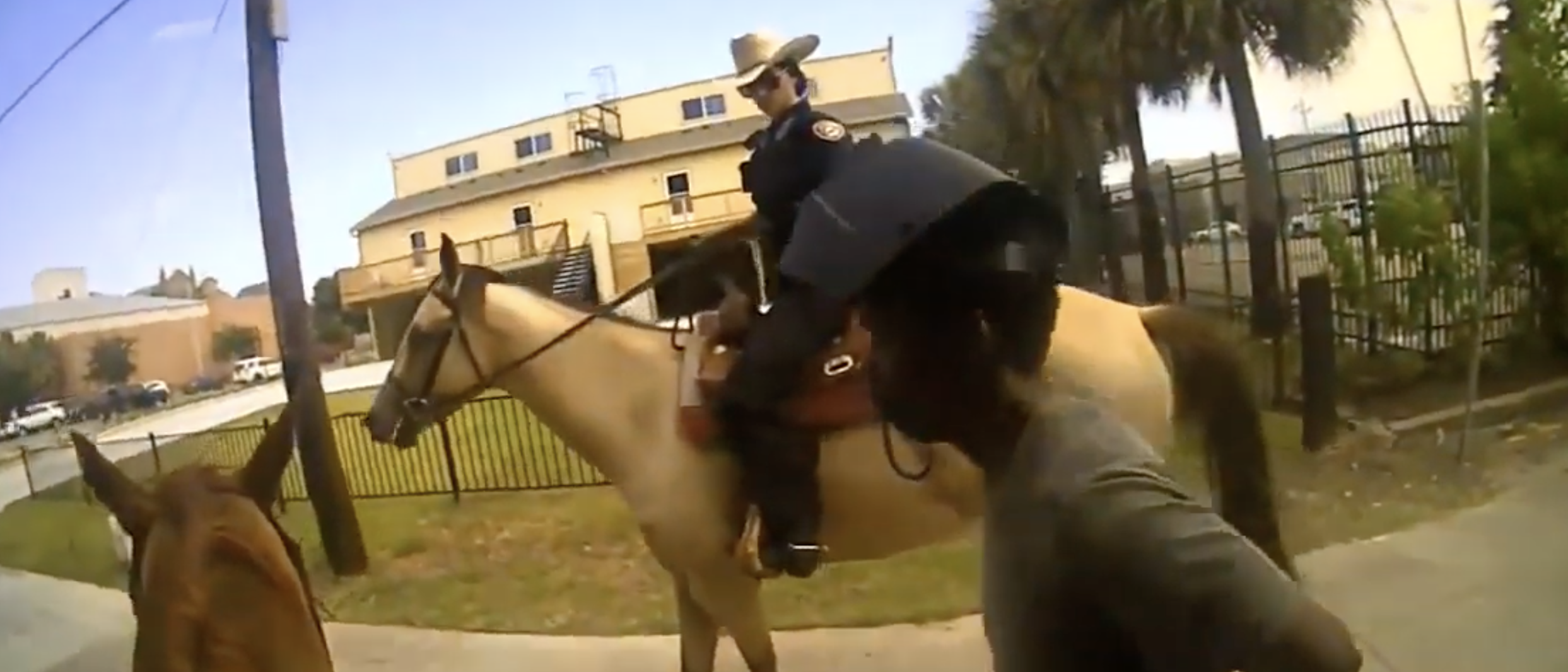 Body Cam Footage Shows Officers Leading Tied Up Mentally Ill Black Man Down Road On Horseback