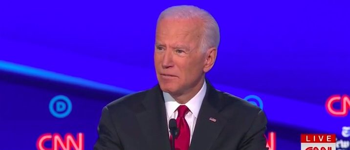 79-Year-Old Biden's Response To A 'But, You'd Be The Oldest President Ever' Question Was Even Thinner Than His Hair