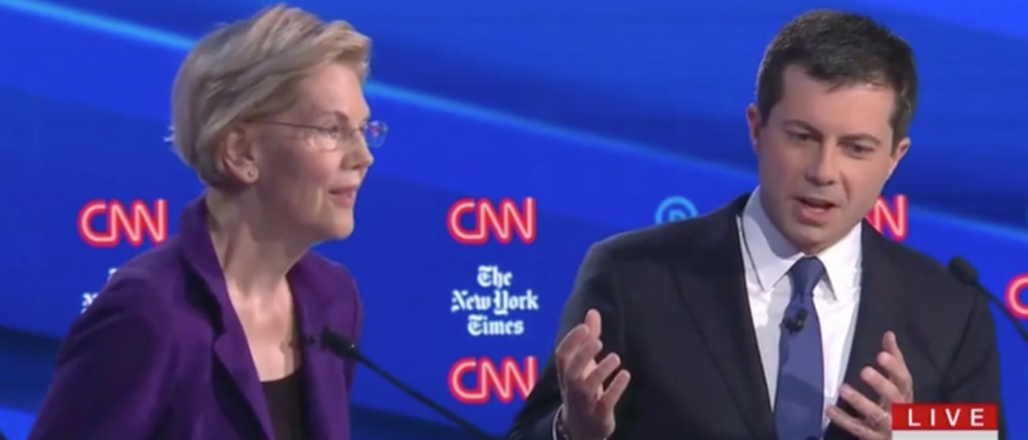 Warren Skirts Question On Taxes, And Buttigieg Takes The Fight To Her