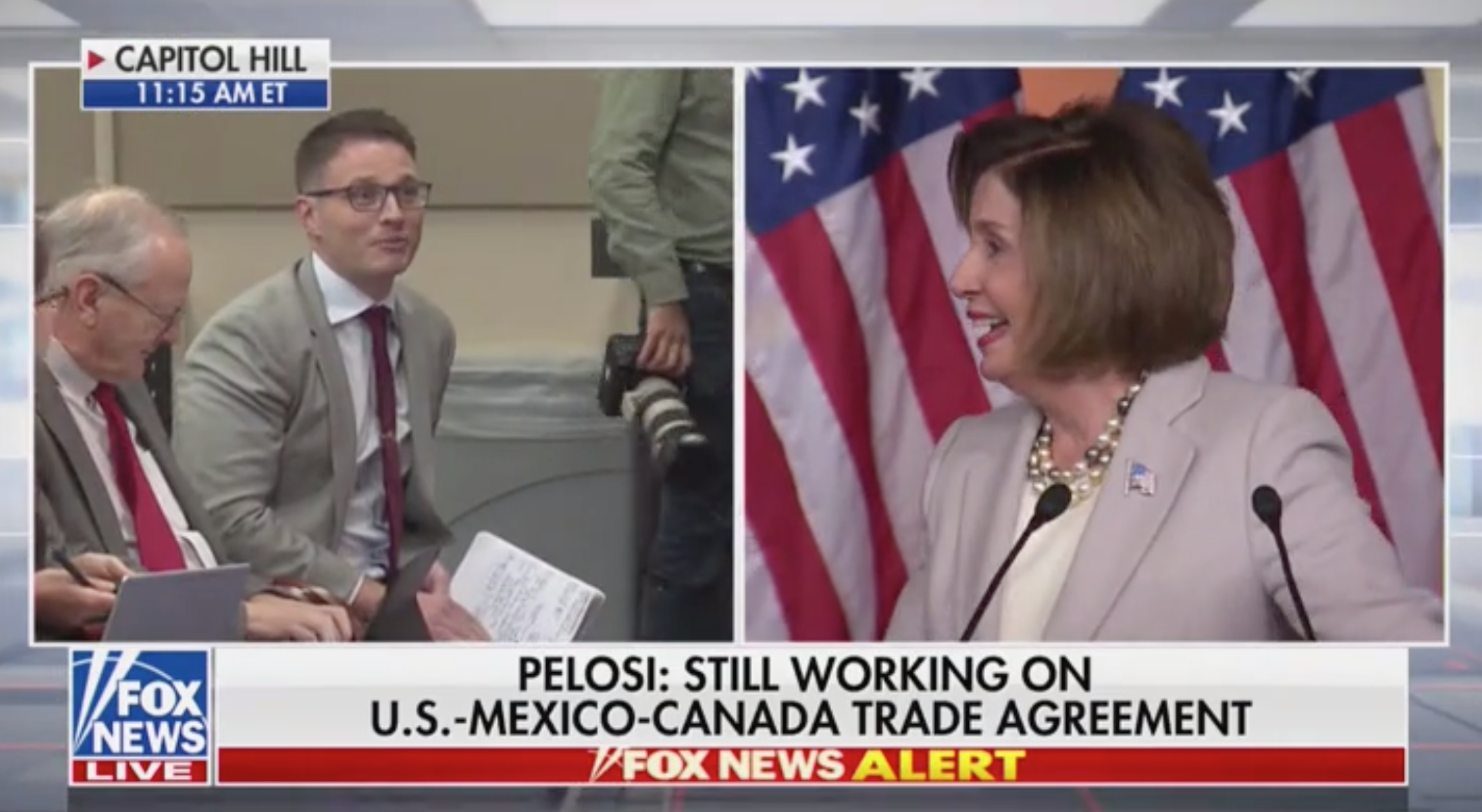 Pelosi Blows Off 'Republican Talking Points,' Refuses To Answer Question About Transparency