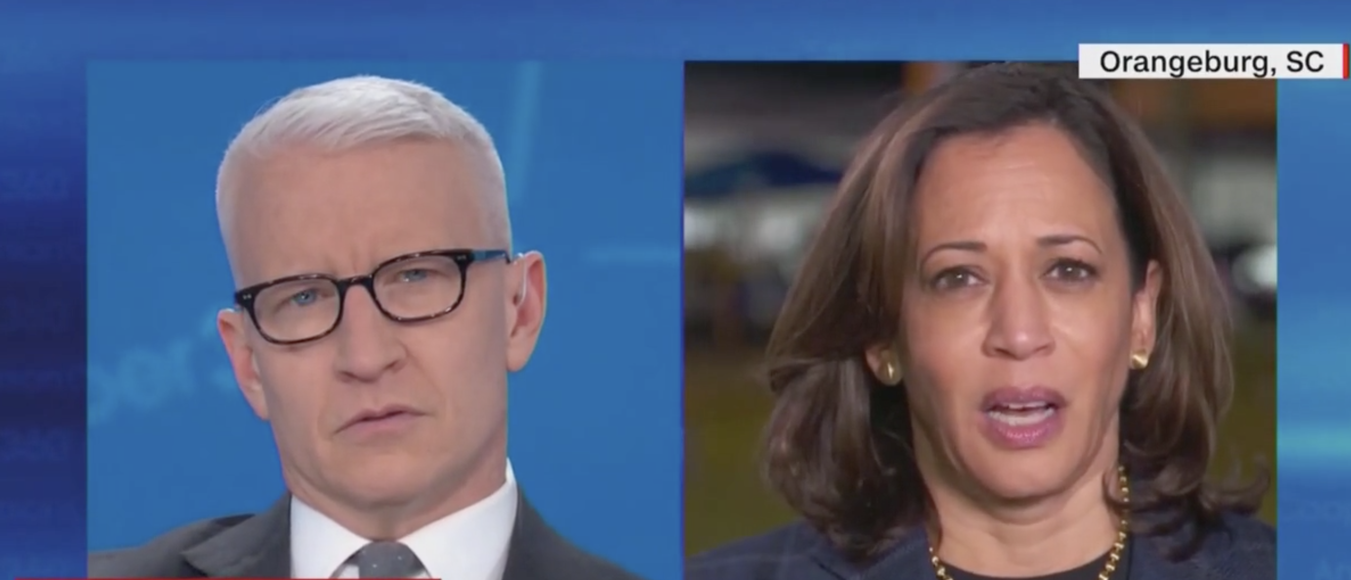 'I, I, I Don't Know': Anderson Cooper Stumps Kamala Harris With A Single, Simple Question