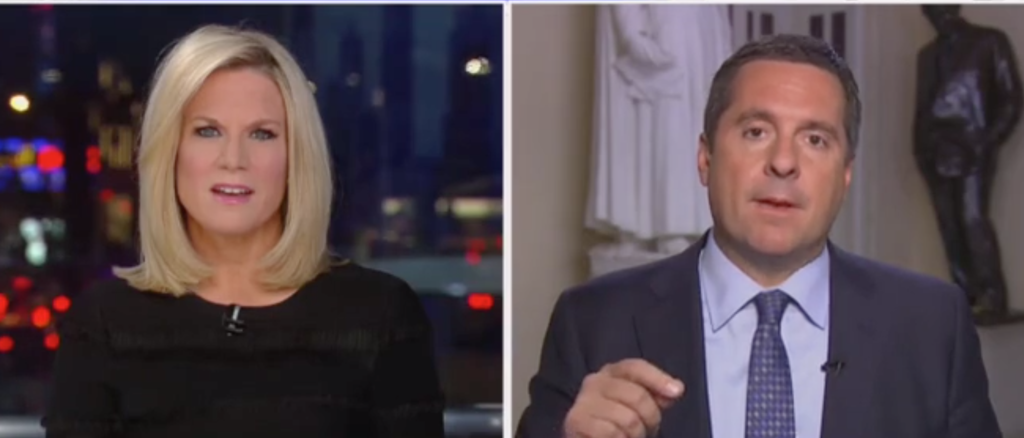'They Are Playing With Fire': Devin Nunes Says Democrats Don't Want A Public Impeachment