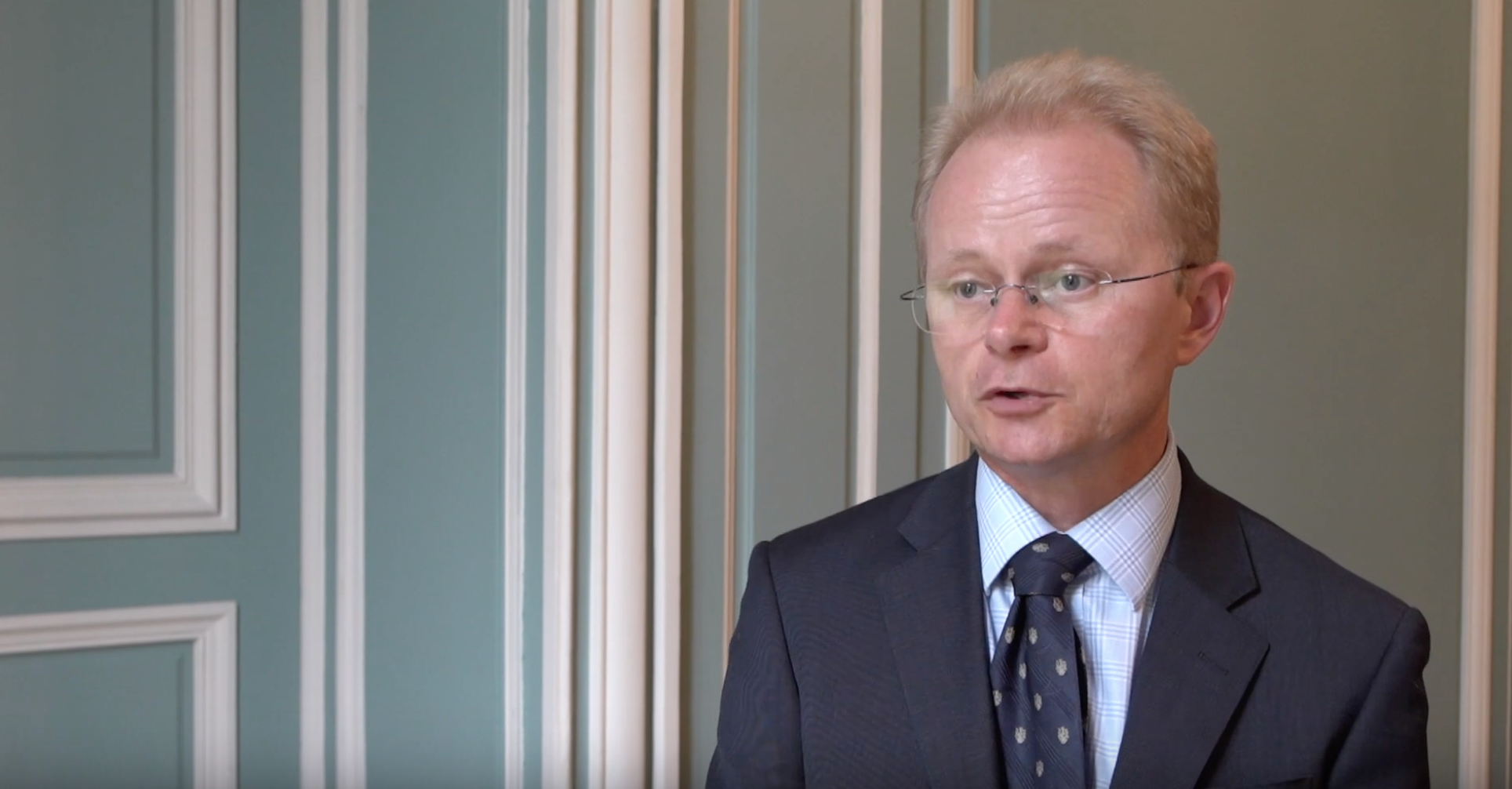 Dr. Mark Schipp is serving the first year of his three year term as the OIE president. (YouTube/OIEVideo)