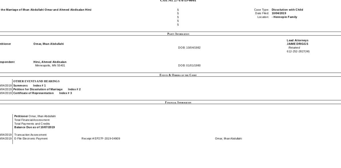 Photo Credit: Screenshot/Minnesota Trial Court Public Access