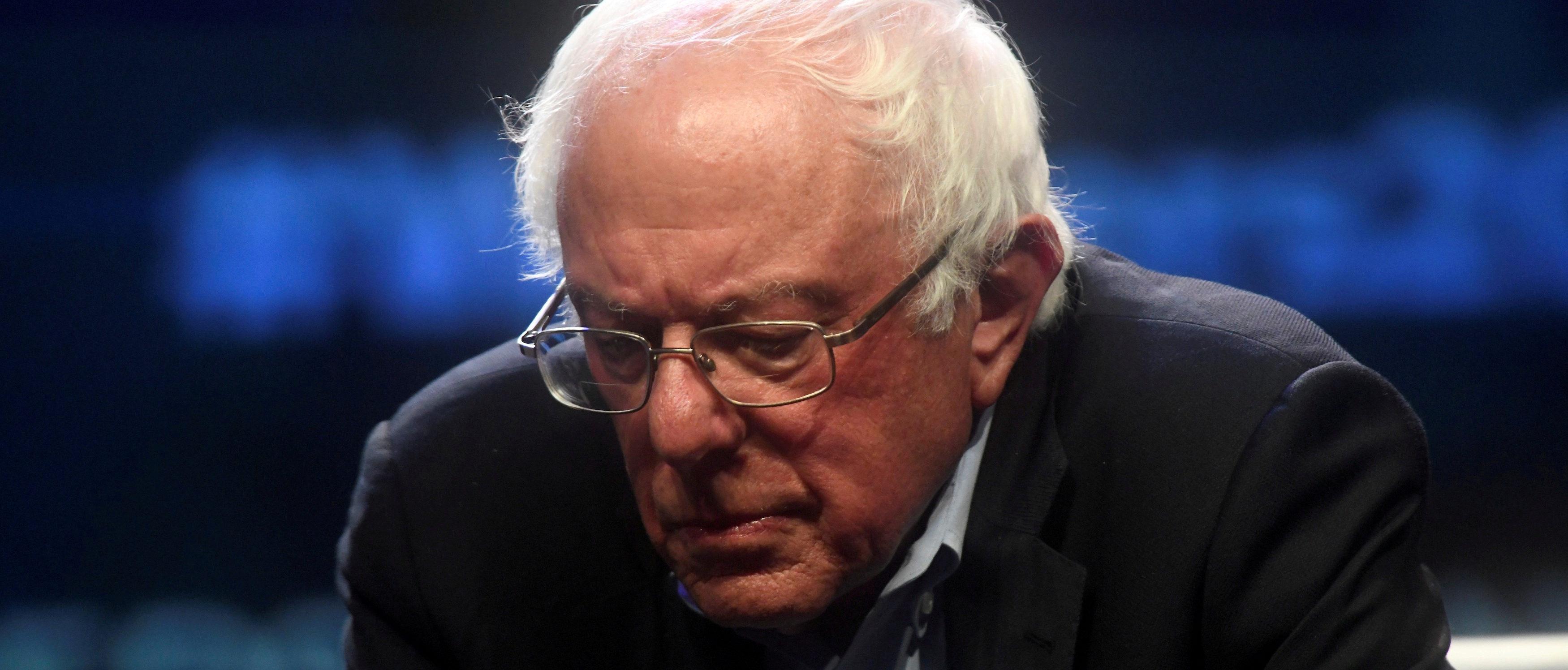 Democratic Presidential candidate U.S. Senator Bernie Sanders (D-VT) addresses attendees during the AFL-CIO Workers Presidential Summit in Philadelphia, Pennsylvania, U.S., September 17, 2019. REUTERS/Mark Makela/File Photo