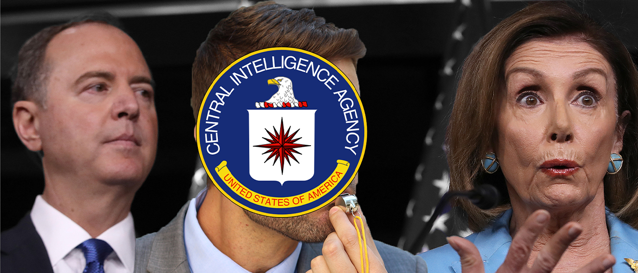 It's Looking More And More Like The Whistleblower Issue Was Stage-Managed By Dems And The CIA